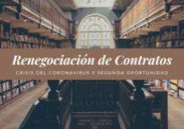 Renegociación de contratos por coronavirus