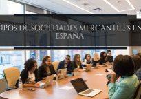 Tipos de sociedades mercantiles en España